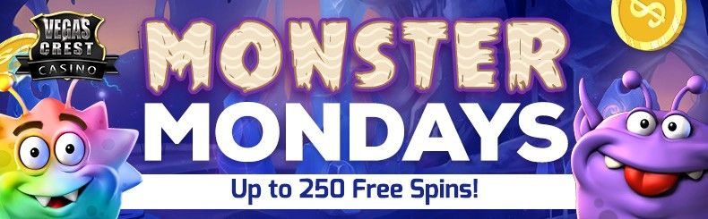 Monster Wins with Free Spins at VegasCrest Casino