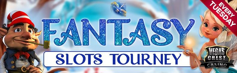 Win Real Rewards playing Fantasy Slots at VegasCrest Casino